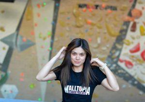 walltopia climbing center team Evelin Georgieva